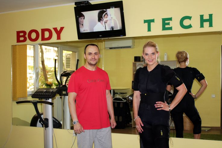 Incercati noul tip de antrenament #EMS (electrostimulare musculara activa) alaturi de antrenorul personal. www.bodytech.ro/preturi-abonamente-ems/