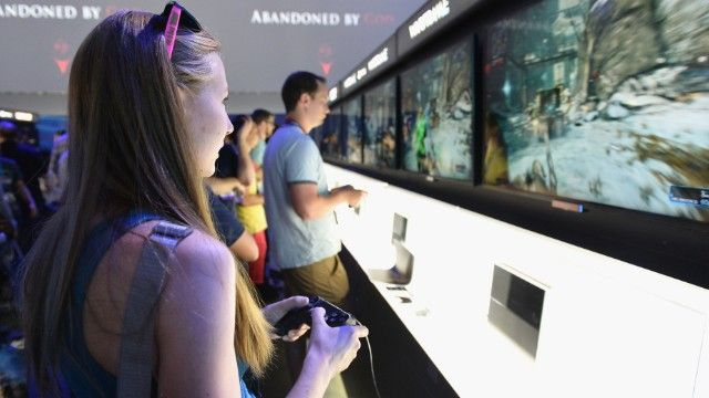Although marketing overwhelmingly still targets young males, a new report suggests adult women are nearly half of all video game players. | CNN (article also talks about boys' club mentality and trolls)