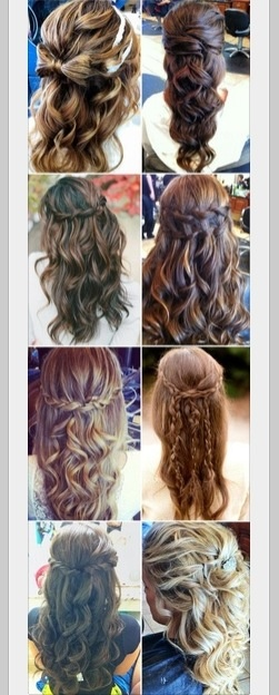 I like these hairdos so cute!!