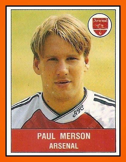 Old School Panini: UK Football Team - Arsenal FC 1990-91