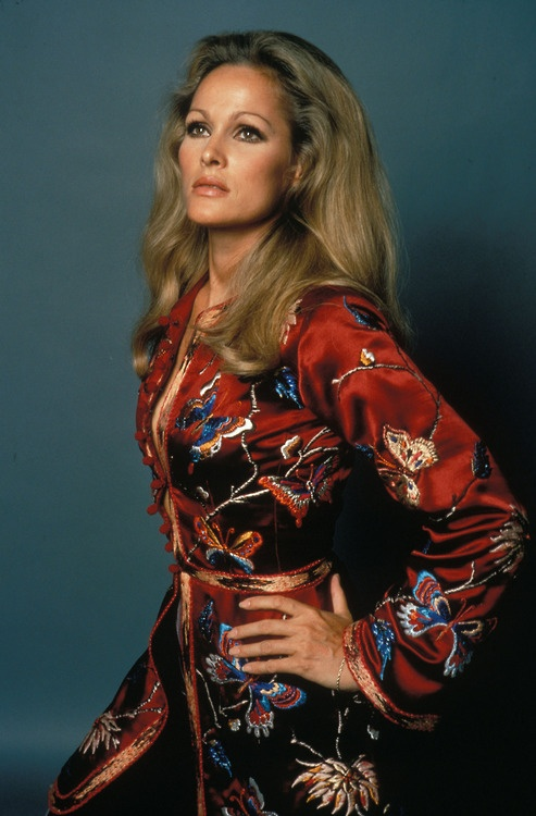 ursula andress - wonder who that fab dress/coat is by?