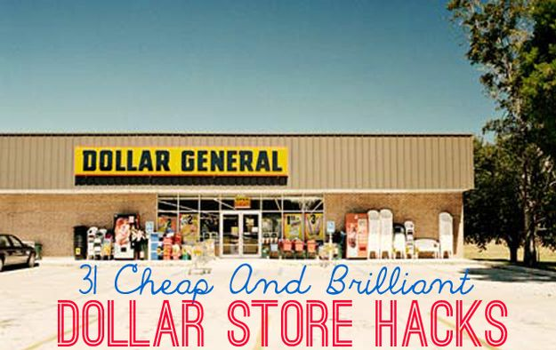 31 Cheap And Brilliant Dollar Store Hacks - I think I like the magnet board from a burner cover and a ribbon the best.