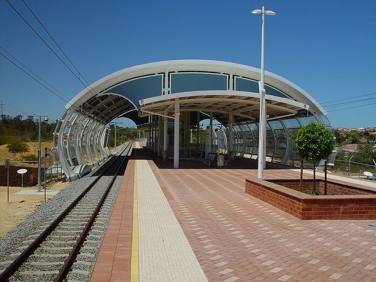 Currambine Train Station, Perth Western Australia