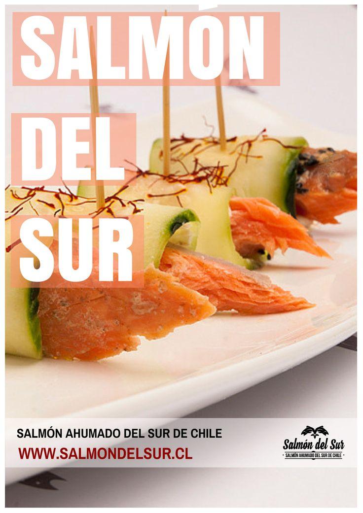 Venta de salmón ahumado en caliente con especias. Salmón del Sur. salmondelsur.cl