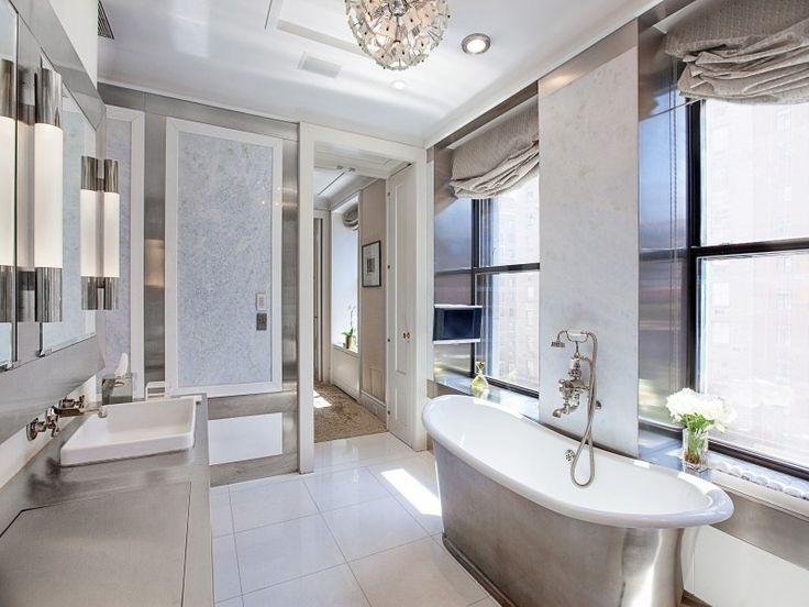 White Master Bathrooms 34 luxury white master bathroom ideas (pictures) | pedestal tub