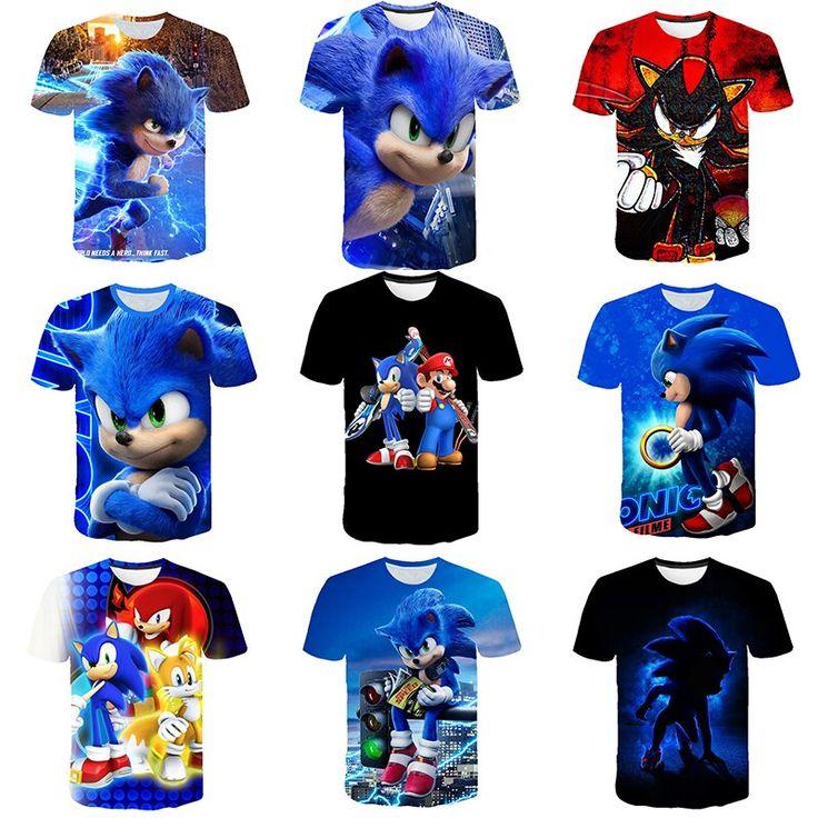 Ropa y accesorios,las mejores ofertas en línea,alta calidad,. 2020 camiseta de dibujos animados 3D ropa de niños verano