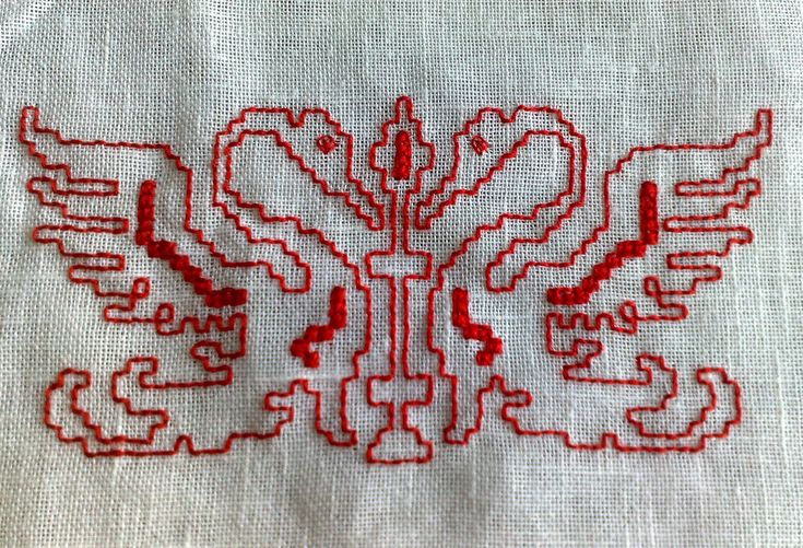 Assisi embroidery