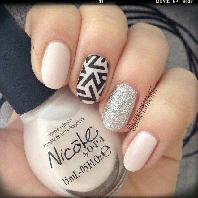 We love it! @martawarmuz #perfect #manicure #lookchitchatnails #nailart #weddingnails #pannamloda #bridalprep  #bridal #nails #paznokciedoslubu #pazurki #instagood #poprostupieknie #slub #wesele #bridetobe #bridalstyle