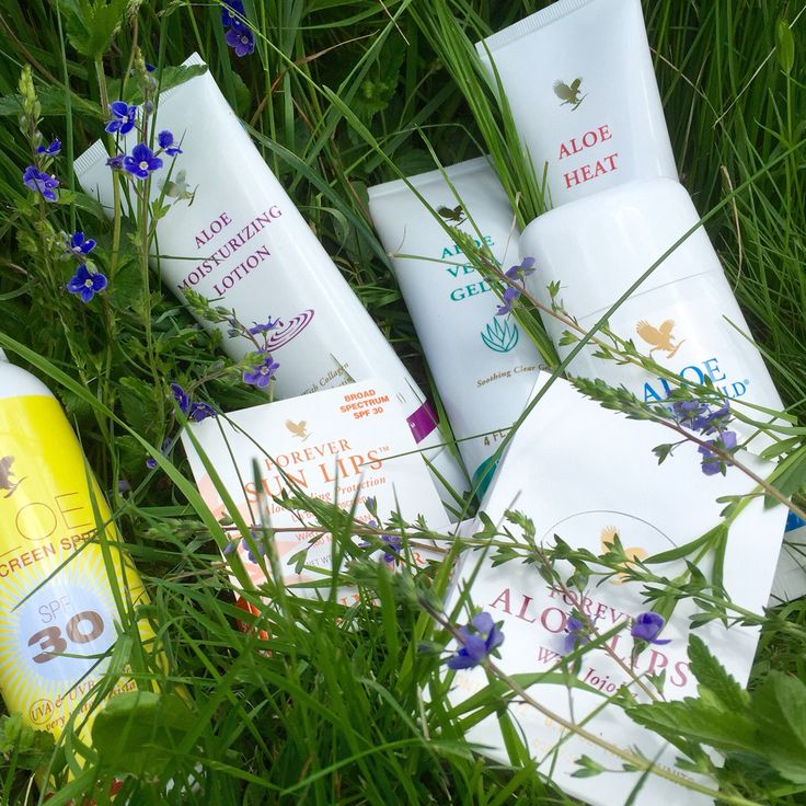 Cruelty Free products for summerliving ForeverLiving (avec