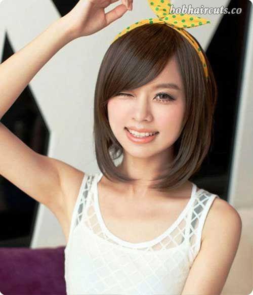 10 Short Chinese Bob Hairstyles - 5 #BobHaircuts
