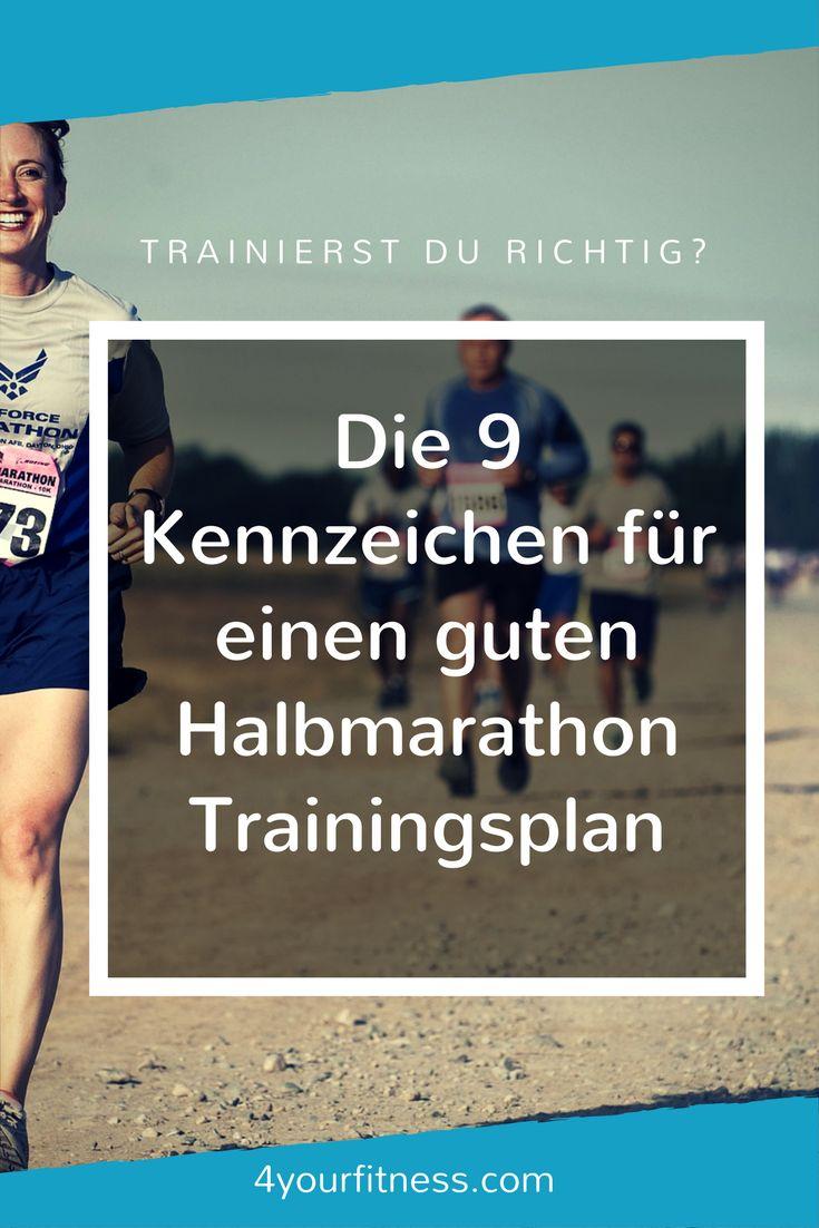 Die 9 Kennzeichen für einen guten Halbmarathon Trainingsplan: Lerne, wie du einen guten von einem schlechten Trainingsplan unterscheiden kannst.