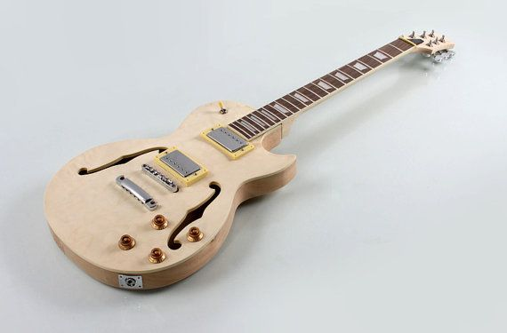 Give the gift of creativity (and music) with a kit that lets them build their own electric guitar.