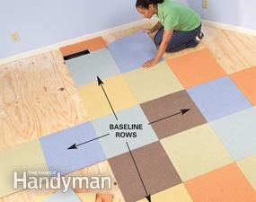 Modular carpet is one of the easiest floor coverings to install. You can finish most rooms in a day!