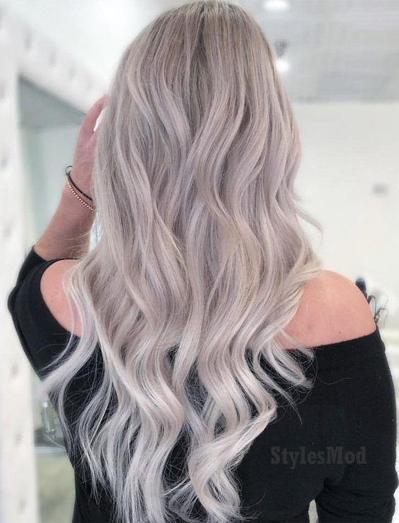 Perfect Cream Natural Ash Blonde Hairstyles For 2019 Natural Ash