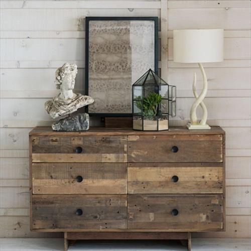 DIY Wood Pallet Dresser | Pallets Designs
