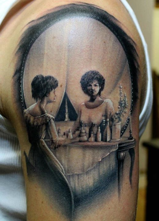 A Mirror Tattoo Reflection | sweetness | Pinterest ...