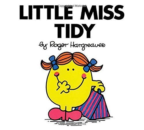 Little Miss Tidy Roger Hargreaves Price Stern Sloan Mr. Men and Little Miss Angl