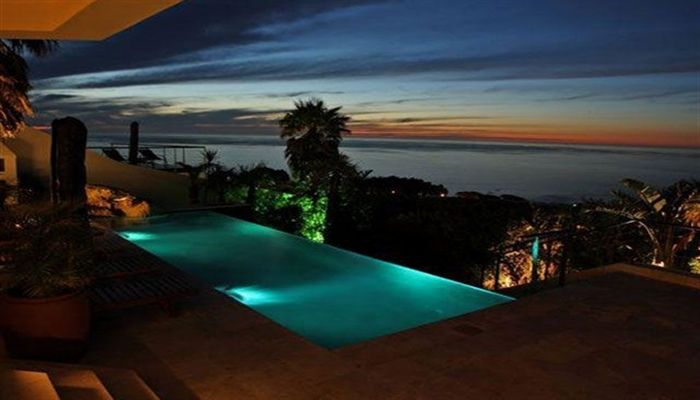 Atlanticview Cape Town Boutique Hotel #pool after dark.