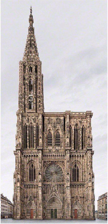 Завораживающая готическая архитектура архитектура, красота, прекрасное, собор, длиннопост