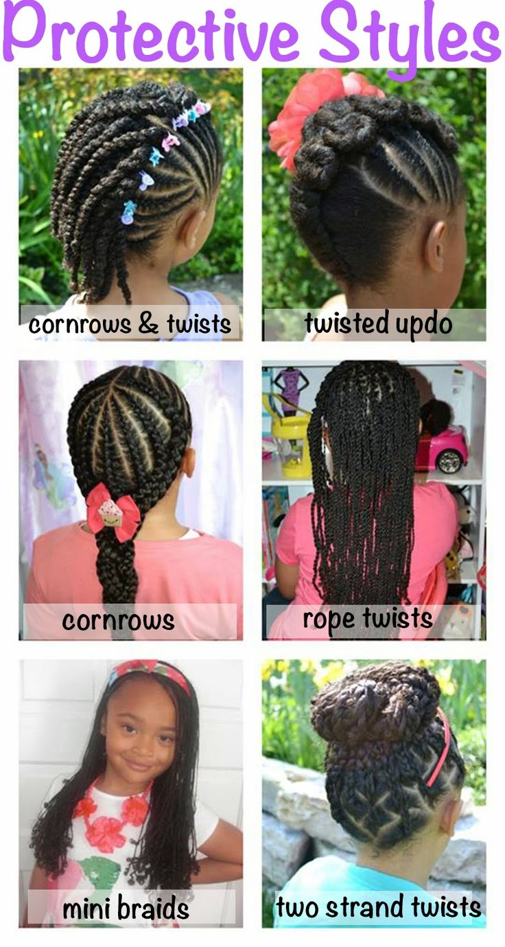 Astonishing 1000 Images About Natural Hairstyles Children On Pinterest Short Hairstyles Gunalazisus