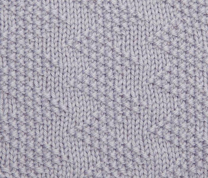 Tutorial Zigzag Knitting : Try knitting this moss stitch zig zag pattern http