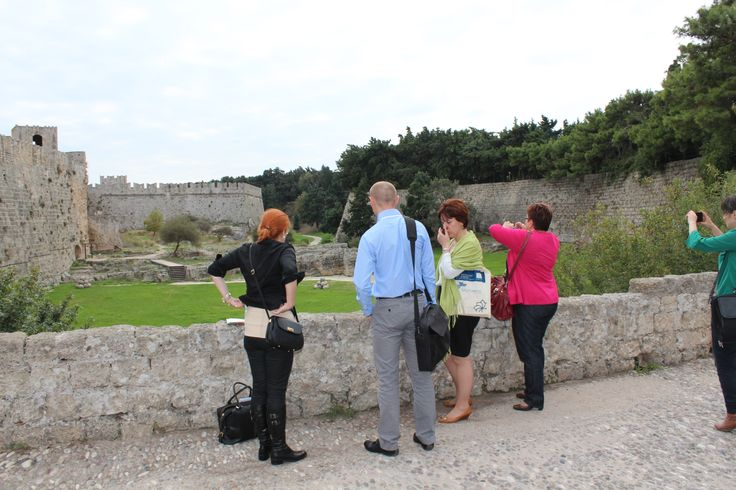Fieldwork at Gate d'Amboise