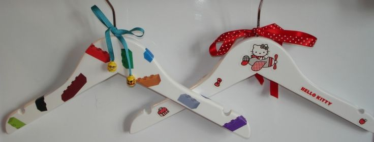 Fun Decorated Clothes Hangers