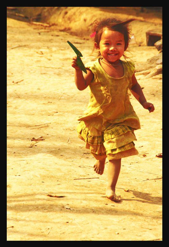 happiness - Luang Namtha, Louangnamtha, Loas