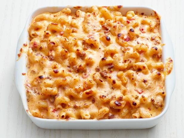 Get Mac and Queso with Sausage Recipe from Food Network