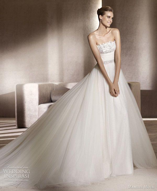 http://weddinginspirasi.com/2011/09/19/manuel-mota-wedding-dresses-2012/  manuel mota bridal 2012 collection edesa  #weddings #weddingdress #wedding #bridal