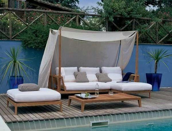 Mejores 18 imágenes de Exteriors - Pool en Pinterest | Muebles de ...