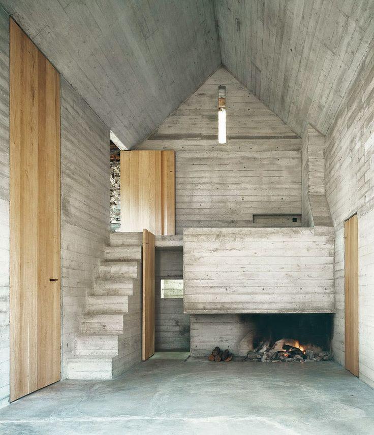 Simplicity Love: Summer House in Linescio, Switzerland | Buchner Bründler Architekten
