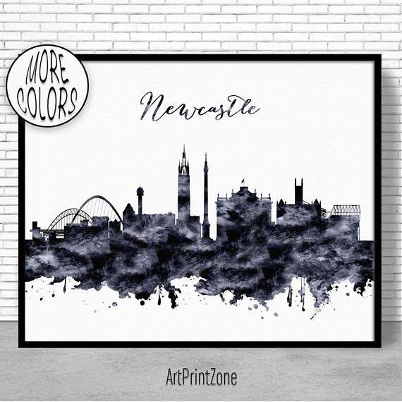 $8.00 Newcastle Print, Newcastle Skyline Newcastle United Kingdom Office Decor Office Art, Watercolor Skyline, Watercolor City Print, ArtPrintZone #CitySkylineArt #WatercolorCity #ArtPrint #Newcastle #OfficeDecoration #OfficeArt #ArtPrintZone #CitySkylinePrints #WatercolorSkyline #OfficeDecor