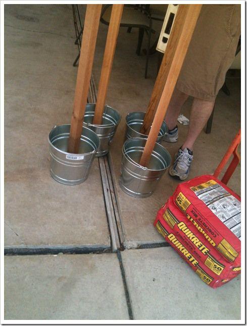 string light poles home sweet home pinterest. Black Bedroom Furniture Sets. Home Design Ideas
