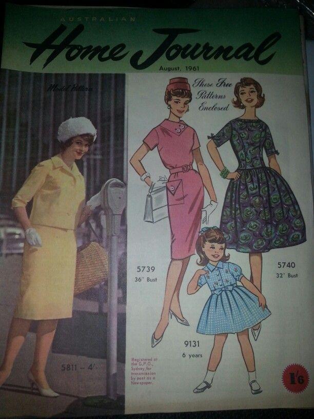 Australian home journal August 1961 cover