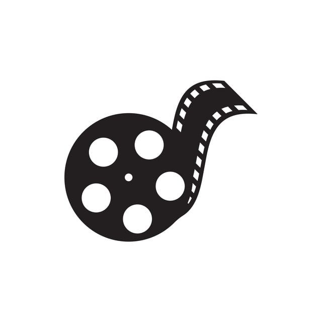 Film Logo Design Template Vector Isolated Illustration Film Clipart Logo Icons Film Icons Png And Vector With Transparent Background For Free Download Music Logo Design Film Logo Art Logo