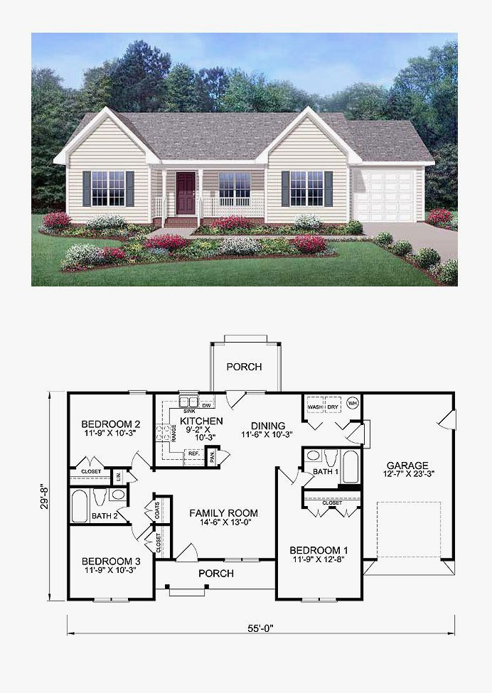 Sims 3 Family House Blueprints Ranch Style House Plans Family House Plans Sims House Plans