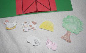 kids barn craft