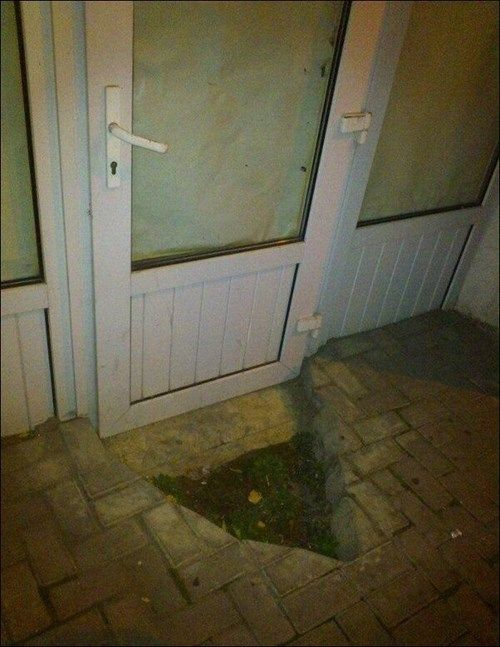 The Door Opens, What More Do You Need? #FAIL
