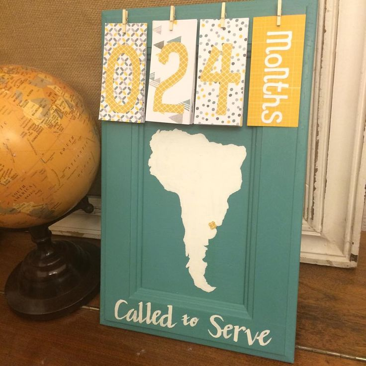 """26 Likes, 6 Comments - Countdown Kreations {Whitnie} (@countdownkreations) on Instagram: """"Missionary countdown! #missionary #calledtoserve #missionarymom #mission #ldsmissionary #travel…"""""""