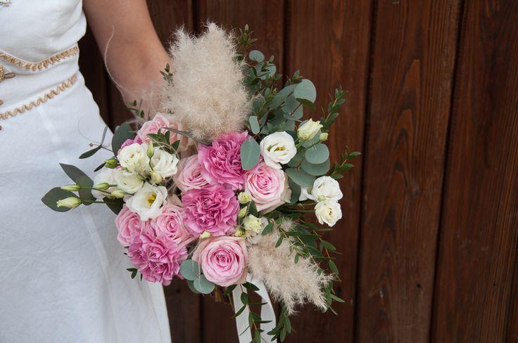 Bukiet Ślubny #slub #bukietslubny #slubneinspiracje #zielonenabialym #slubwplenerze #slubjeleniagora #slubmyslakowice #bohemian #wedding #weddingbouquet #rozowyslub  #slubboho