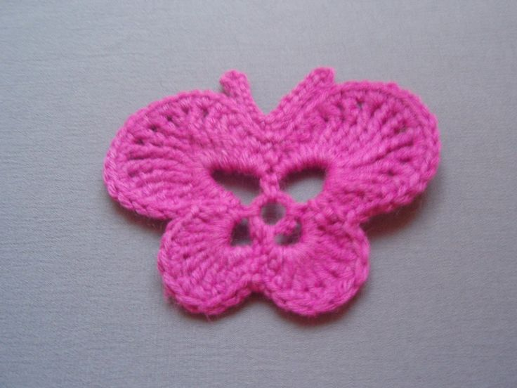 How to crochet butterfly