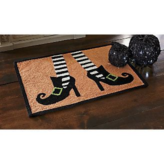 Give Your Kitchen Some Halloween Spirit With Our Hooked Rug!  Www.countrydoor.com