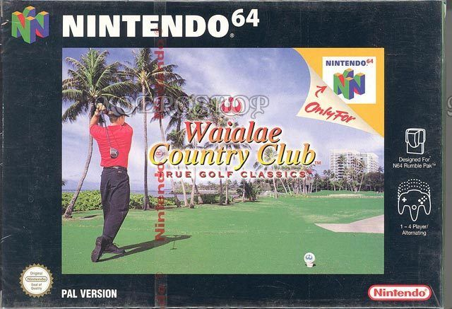 Waialae Country Club Golf - Nintendo 64 - Pal Nintendo Blister (usado)
