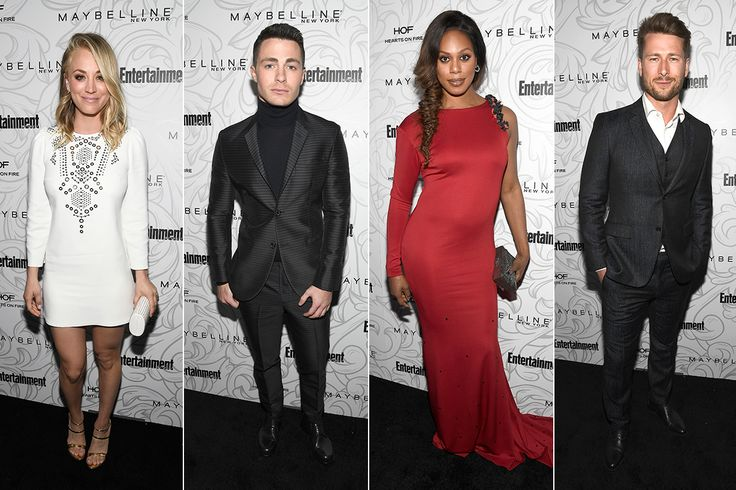 Kaley Cuoco, Colton Haynes and More Celebs Get Their SAG Awards Pre-Party On