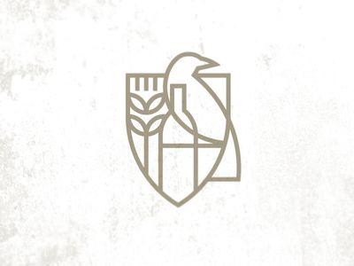 Wine and Spirits store logo