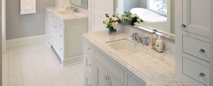 Montgomery Quartz Bathroom Countertop Sinks Floor