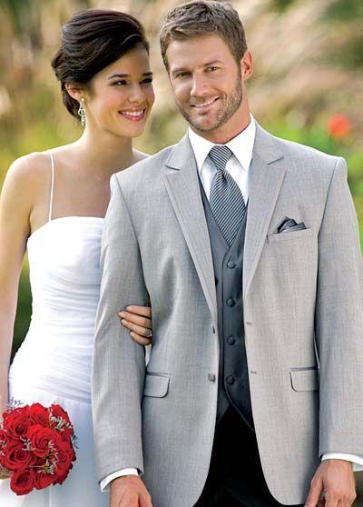 Jean Yves Savoy Silver Tuxedo Rental For Grooms Wedding