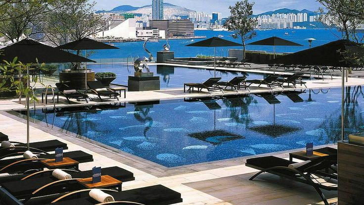 Four Seasons Hong Kong. Great poolside and spa.
