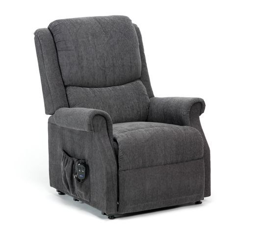 The NEW Indiana Rise Recliner is both stylish and comfortable, providing excellent value for money. The chair offers a luxurious weave fabric produced by a family run company in Belgium. This new fabric is available in Berry, Biscuit, Charcoal and Mushroom. The simple to use 2 button handset allows you to relax with ease at the touch of a button into a snooze position, or alternatively it will gently lift you into a standing position. This chair is fitted with a single motor allowing both…